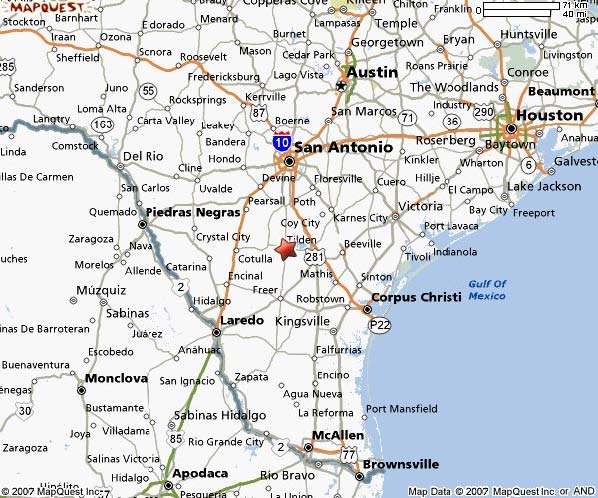 Map to mcclaugherty ranch hunt south texas for whitetail deer map to mcclaugherty ranch hunt south texas for whitetail deer javelina hogs turkey dove quail publicscrutiny Choice Image